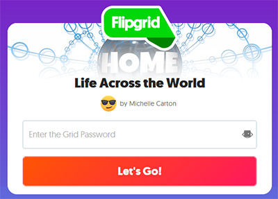 Sign up with Flipgrid